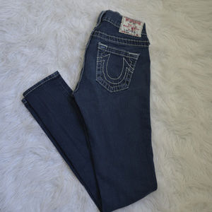 True Religion skinny jeggings/jeans